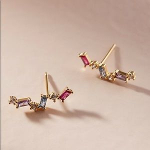 NWT Devonshire Crystal Climber Earrings